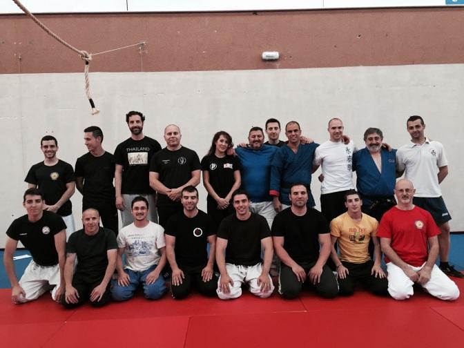 Inicio del curso de Kyusho Jitsu