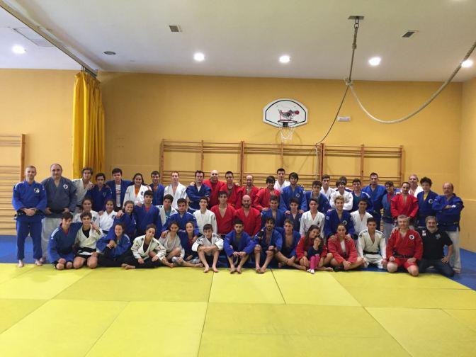 Preselección y entrenamiento lucha Sambo