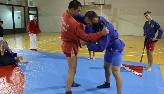 Entrenamiento de Sambo con Nicolai Potashnik