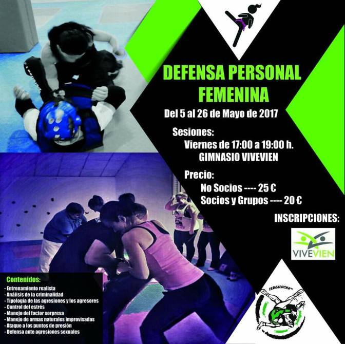 Defensa Personal Femenina (mayo)